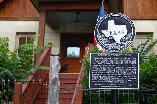 Historical landmark house about a four-minute walk from us.
