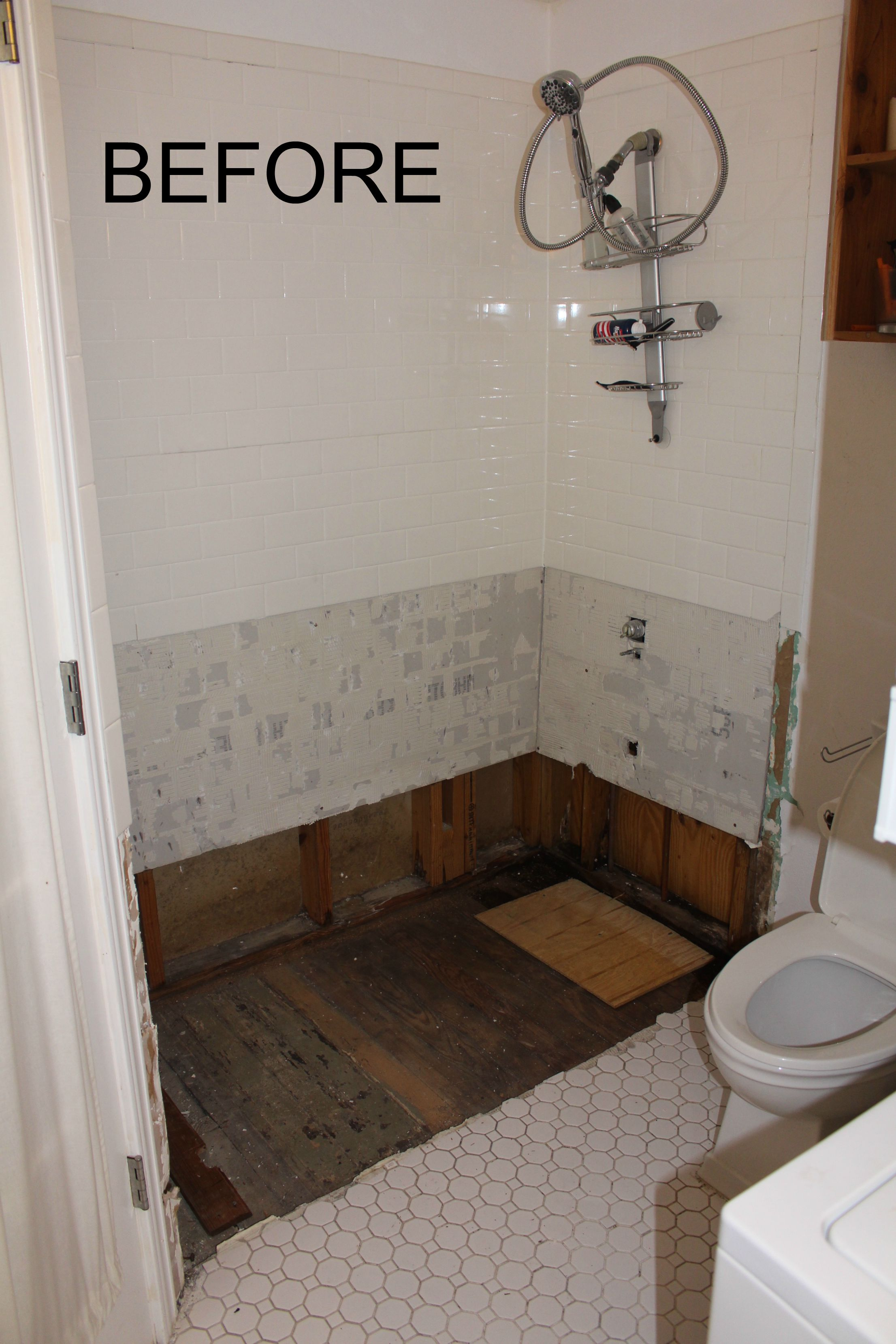Bathroom Remodel No Tub master bath remodel | yard and plate